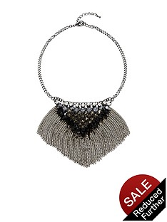 fringed-chain-drop-jewel-detail-necklace
