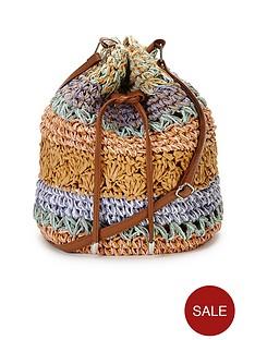straw-duffle-bag-stripe-print