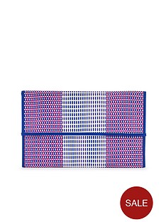 french-connection-weave-clutch-bag