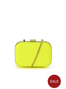 miss-kg-hana-hard-clutch-bag-lime