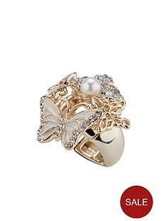 lipsy-stretch-butterfly-ring