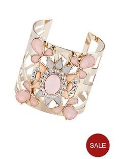 lipsy-gemstone-cuff