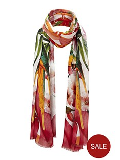 ted-baker-tropical-toucan-long-scarf