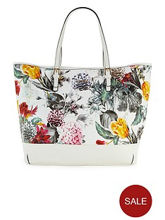 lipsy-floral-print-shoulder-bag