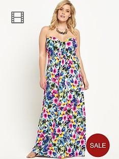 so-fabulous-jersey-bandeau-tropical-print-maxi-dress