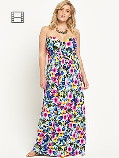 so-fabulous-jersey-bandeau-tropical-print-maxi-dress