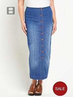 so-fabulous-button-front-denim-maxi-skirt