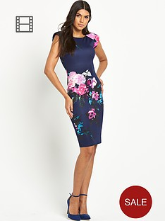 ax-paris-floral-print-midi-dress