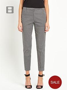 oasis-tile-geo-print-trousers