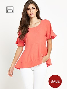 vila-godiva-short-sleeve-top