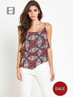 glamorous-layered-print-cami
