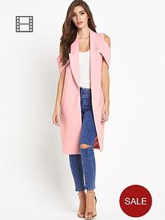 lavish-alice-cut-out-shoulder-midi-jacket