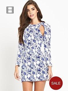 lavish-alice-cut-out-floral-print-dress