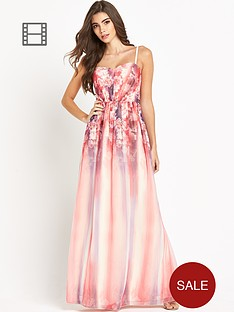 little-mistress-floral-top-bandeau-maxi-dress
