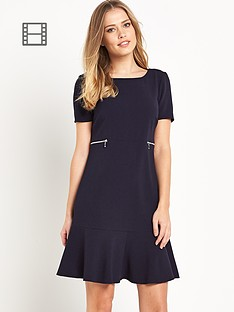 south-drop-waist-zip-dress-navy