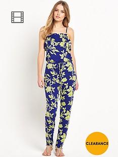 south-frill-floral-print-jumpsuit