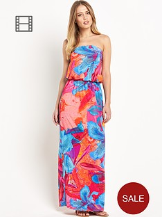 south-bandeau-floral-print-maxi-dress