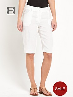 south-knee-length-linen-shorts