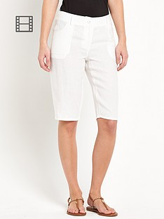 south-knee-length-linen-shorts