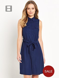south-sleeveless-shirt-dress