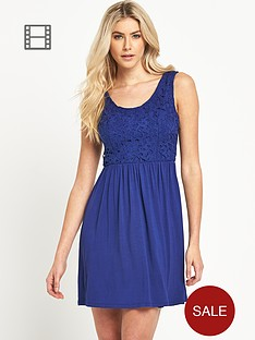 south-lace-top-skater-dress