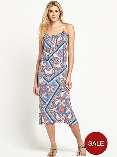 south-tile-print-midi-dress