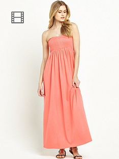 south-petite-smocked-maxi-dress