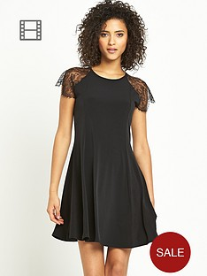 south-lace-detail-swing-dress