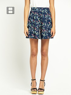 south-bird-print-shorts
