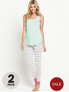 sorbet-heart-stripe-legging-set-2-pack