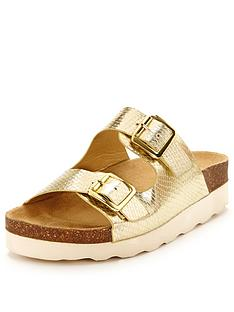 shoe-box-polly-double-buckle-wedge-sandals-gold