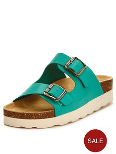 shoe-box-polly-double-buckle-wedge-sandals-turquoise