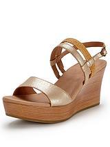 Lira Mar Wedge Sandals