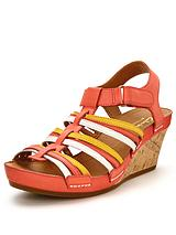 Rusty Lady Wedge Sandals