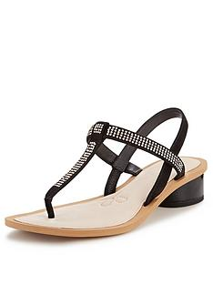 clarks-sandcastle-top-embellished-sandals-with-metallic-block-heel