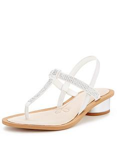 clarks-sandcastle-top-embellished-sandals-with-metallic-block-heel
