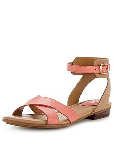 clarks-viveca-zeal-cross-strap-flat-sandals