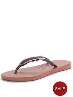 havaianas-crocus-rose-metallic-flip-flops