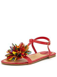 joe-browns-quirky-corsage-flat-sandals