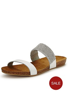 moda-in-pelle-nori-white-jewel-slide-sandals
