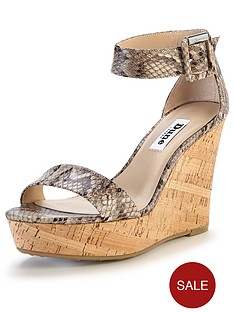 dune-karter-printed-ankle-strap-wedge-sandals