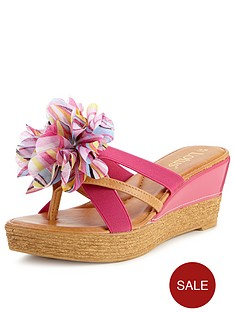lotus-catania-flower-wedge-mules
