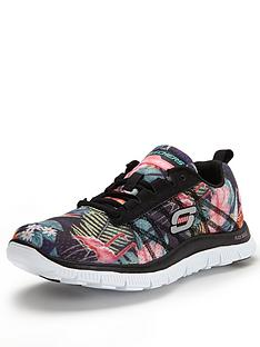 skechers-flex-appeal-floral-bloom-lace-ups