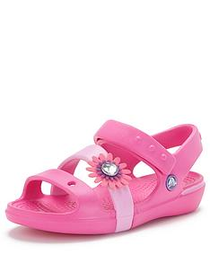 crocs-keeley-petal-charm-sandals