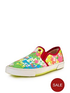 ugg-australia-i-hearts-slip-on-paint-splatter-pumps