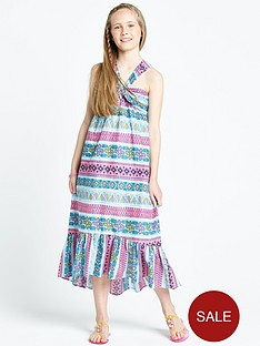 freespirit-girls-tribal-maxi-dress
