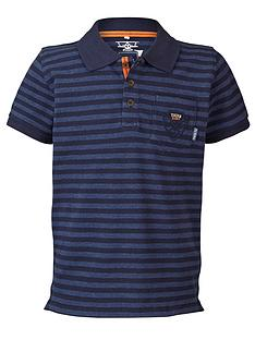 name-it-lmtd-boys-short-sleeve-stripe-jersey-polo-shirt