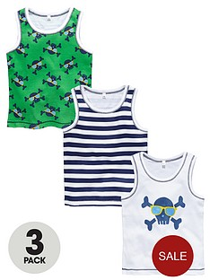 ladybird-boys-skull-vests-3-pack