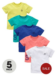 ladybird-boys-bright-t-shirts-5-pack