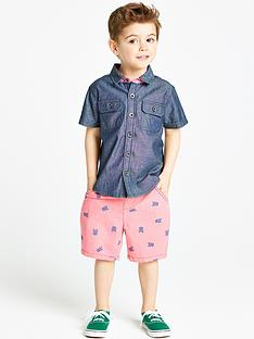 ladybird-boys-denim-shirt-and-chino-shorts-set